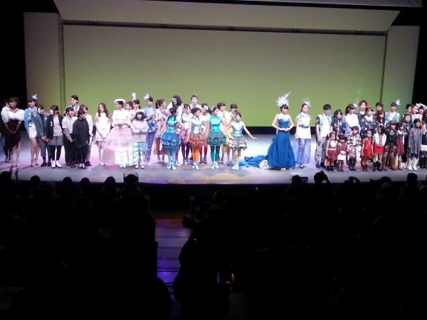Vol.11 神戸ファッション専門学校のショーに出演
